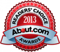 About.com Reader's choice 2013 logo